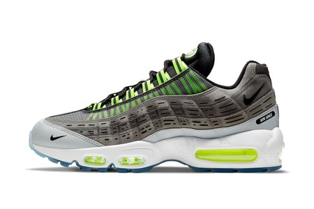 "Kim Jones' Nike Air Max 95 ""Black/Volt"" Collaboration is Officially Unveiled"