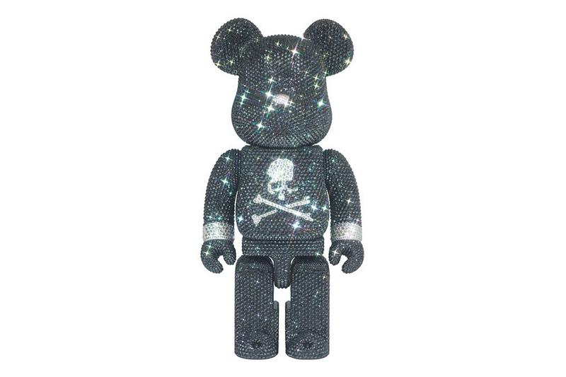 mastermind japan medicom toy swarovski crystal bearbrick 400 percent black silver official release date info photos price store list buying guide