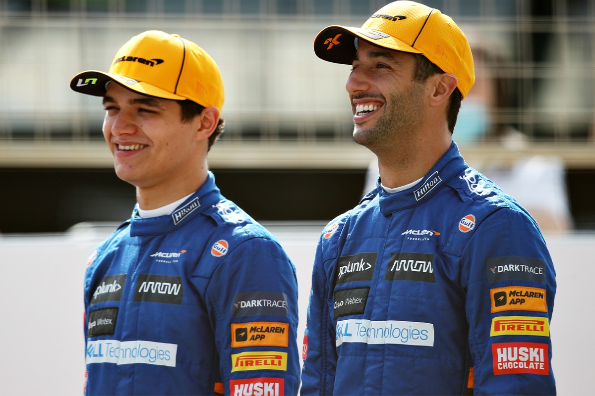 mclaren formula 1 team australian driver daniel ricciardo lando norris mercedes power unit bahrain grand prix interview feature