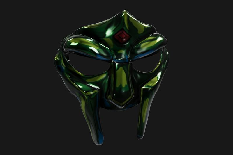 MF DOOM NFT Illust Space Mask Sale Results tech rap hip-hop Rob MCarty  digital art ETH ethereum