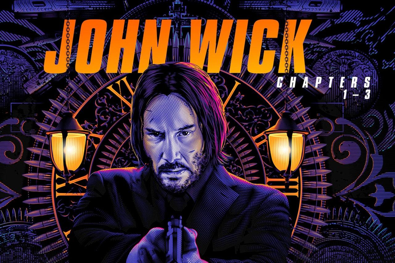 John Wick Triple Feature (John Wick, John Wick Chapter 2 & John Wick Chapter 3), Robocop, Transformers, Troy, Kingsman: The Secret Service, The Italian Job and Fight Club