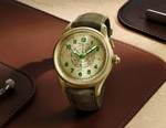 Montblanc Crafts Its Limited Edition 1858 Split Second Chronograph in a Brand New 18K Lime Gold Alloy