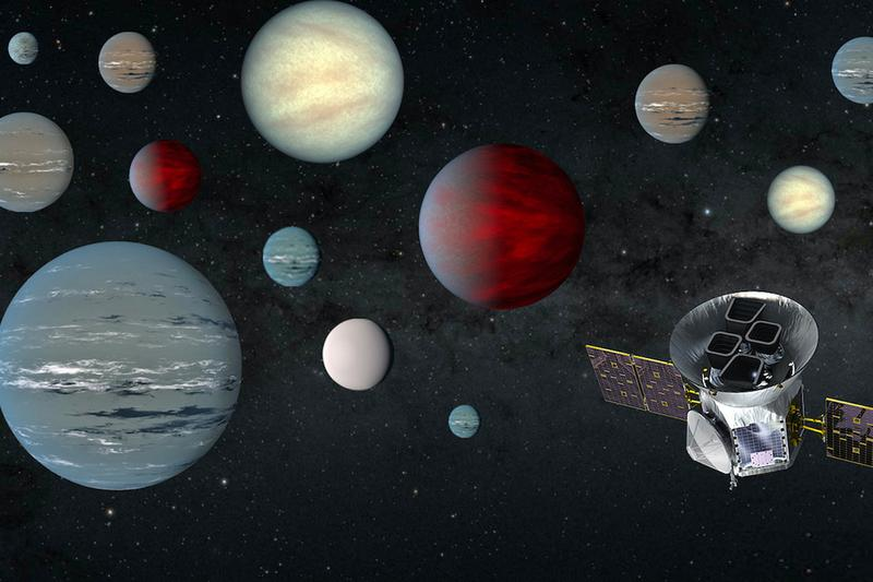NASA TESS Space Telescope Finds 2,200 Possible Planets NASA spacecraft space telescope exoplanets orbit stars mars JPL-caltech national space station