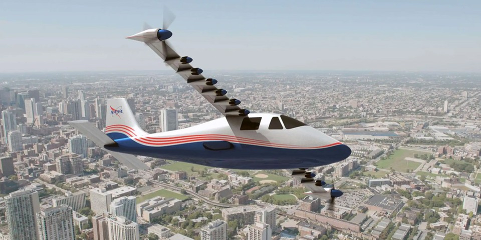 NASA Unveils Its First All-Electric X-57 Maxwell Airplane