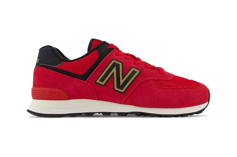 new balance 574 chinese new year cny black team red gold white ML574V2 37015 official release date info photos price store list buying guide
