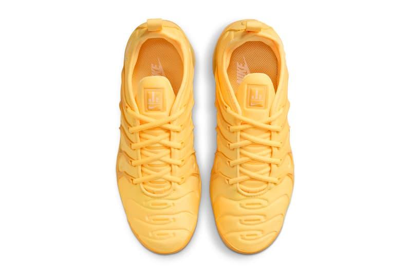Nike Air VaporMax Plus All-Yellow Release Info sneakers kicks swoosh neoprene TPU dj5993-800 sneakers kicks footwear shoes style trainers Vm