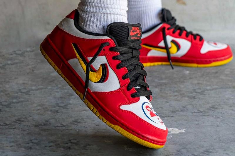 Nike SB Dunk Low Vietnam On-Foot Look Información de lanzamiento 309242-307 Precio de compra Fecha