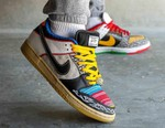 "Here's an On-Foot Look at the Nike SB Dunk Low ""What The P-Rod"""