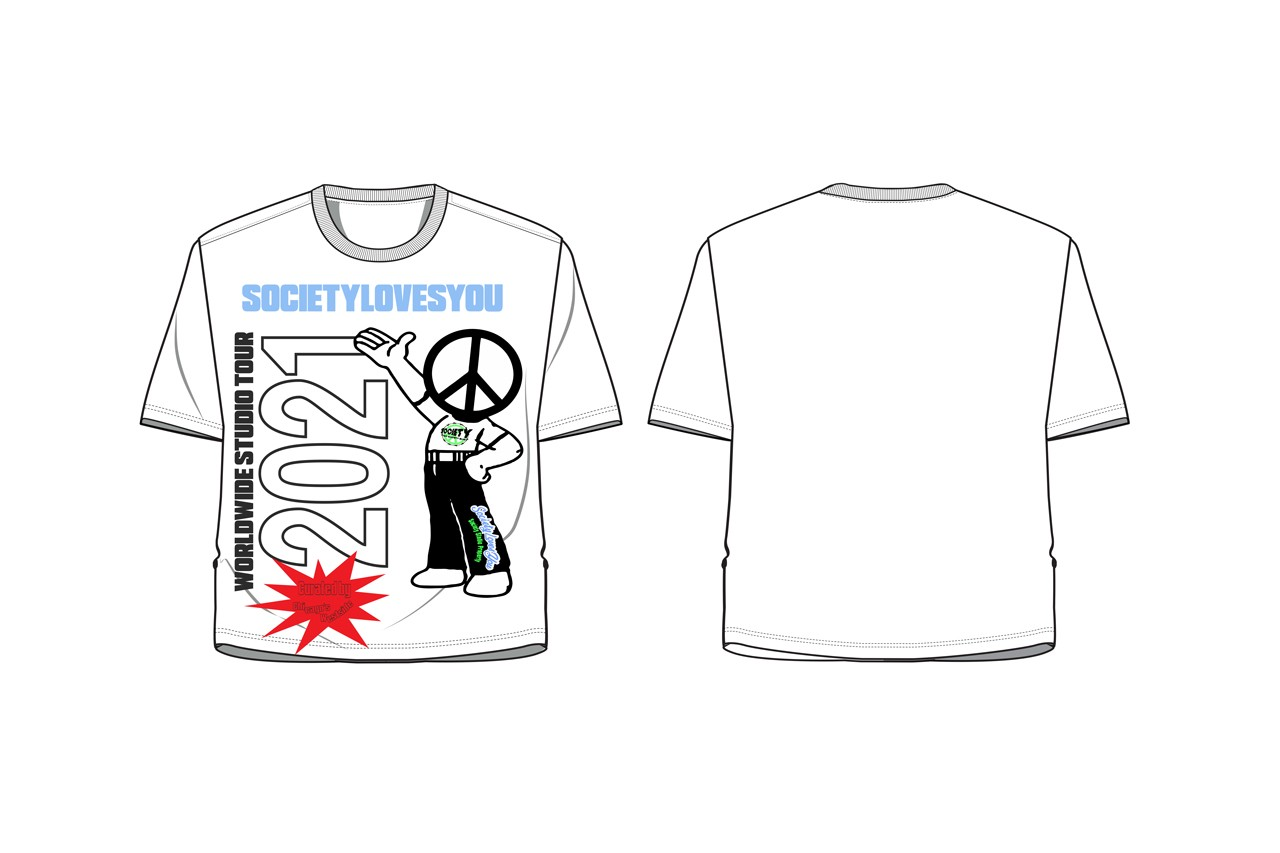 design competition streetwear t-shirt blank nature sustainability chinatown market mike cherman inclusivity