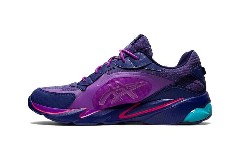 pensole academy asics gel miqrum indigo blue purple release info store list price photos buying guide
