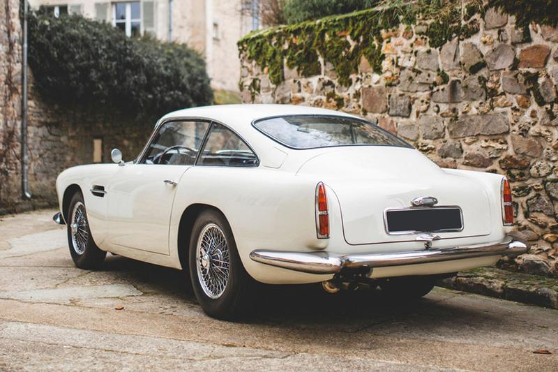 rm sothebys aston martin 1958 db4 paris motor show garage mirabeau marcel blondeau rare vintage car auction sale