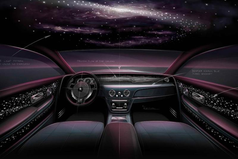 The New Rolls-Royce Phantom Tempus Collection Celebrates Time and Space