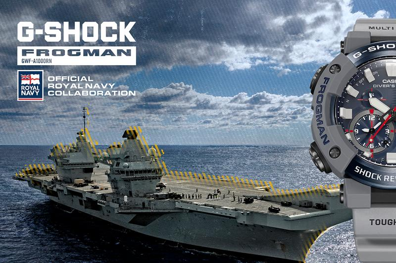 G-SHOCK Works With British Royal Navy on Frogman to Survive Active Service