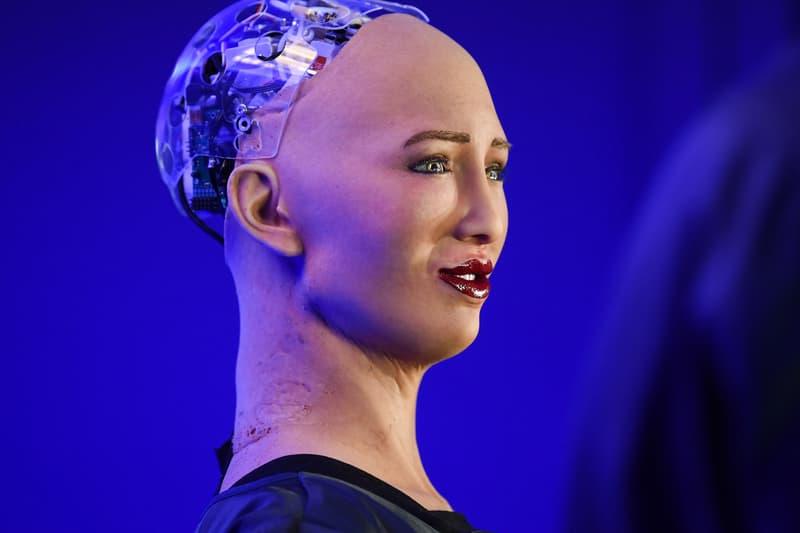 sophia the robot nft
