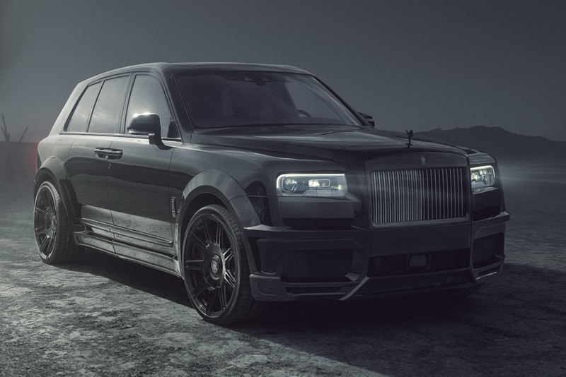 SPOFEC Equips the Rolls-Royce Cullinan Black Badge With OVERDOSE Widebody Kit