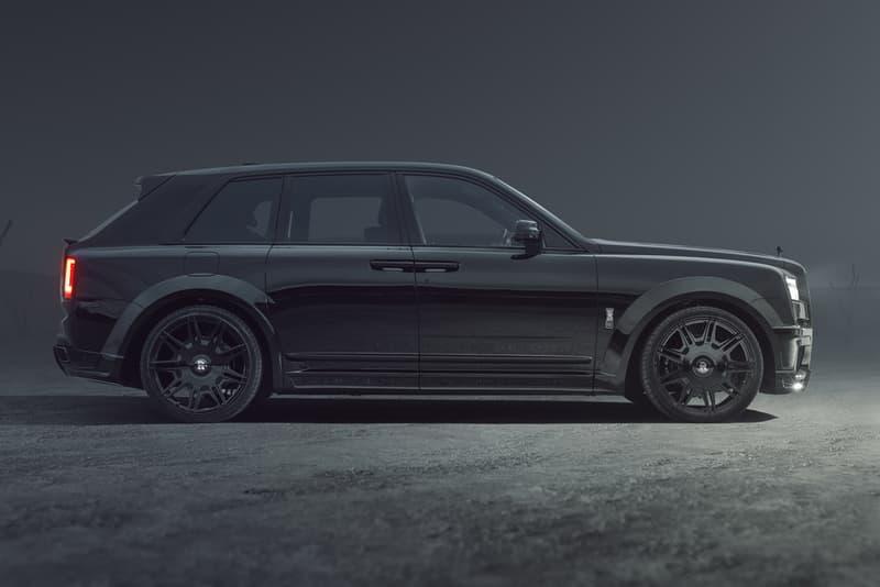 NOVITEC SPOFEC Rolls-Royce Cullinan Black Badge SUV 4x4 Tuned Custom OVERDOSE Wide Body Rims Wheels V12 Power Speed Performance Upgrades All Wheel Drive Vossen