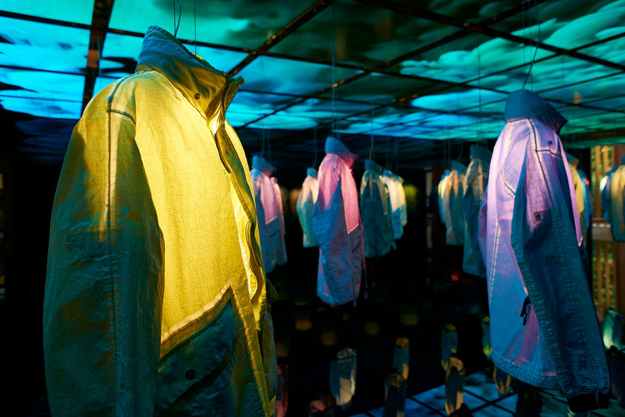 Stone Island Prototype Research Series Carlo Rivetti Exclusive HYPEBEAST Interview Garment Dyed Manual Flocking Italian Moncler Brand Outerwear Jackets Coats Stoney What the Tech Series Limited Edition 1 of 100 Rare Milan Furniture Week Showcase