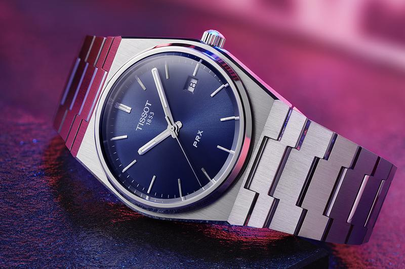 Tissot Revives Late 1970s PRX Integrated Stainless Steel Bracelet Design