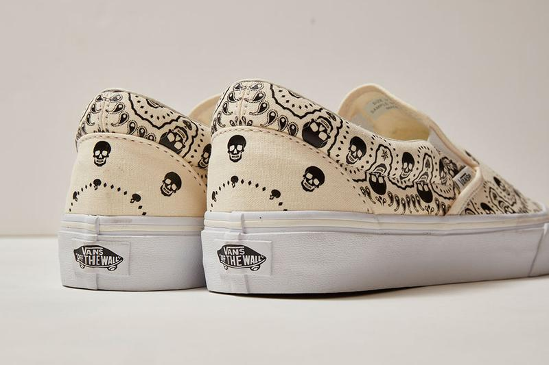 vans style 36 slip on bandanna pack cream black white official release date info photos price store list buying guide