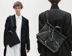 Yohji Yamamoto Splashes Chains and Zippers Across PORTER's Signature Bags