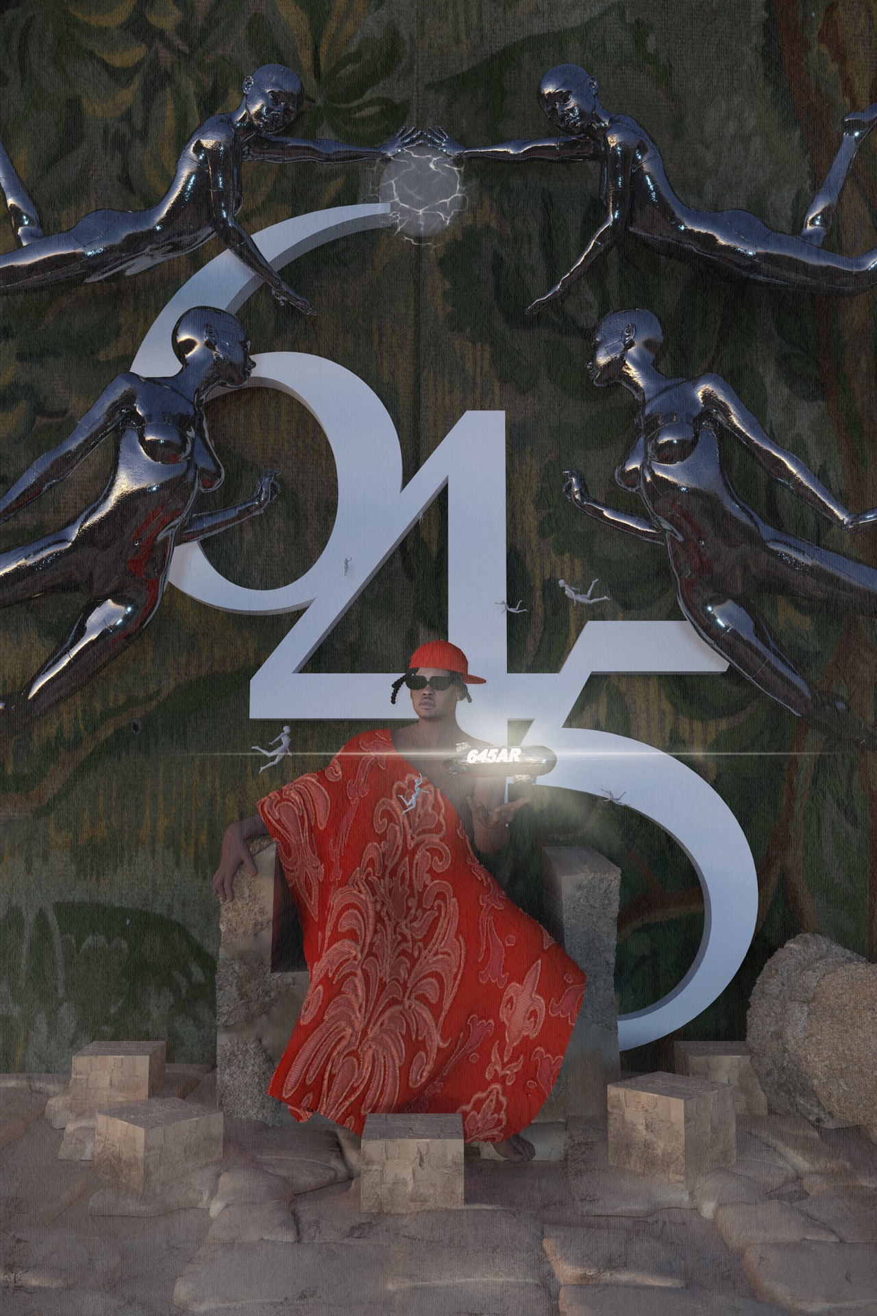 645ar squibs digital art NFT collaboration limited edition The Feast of 645AR and The Adoration of 645AR paintings Collection of 10 sum bout you fka twigs Brodinski collaboration debut EP most hated atlanta producers senseiATL eight tracks gif