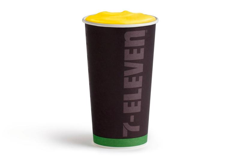 7-Eleven Peeps latte release peeps usa north america candy Just Born Quality Confections coffee convenience stores drinks hot