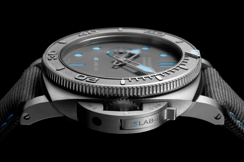 Panerai Submersible eLAB-ID Watch Release Information recycled watch sustainable