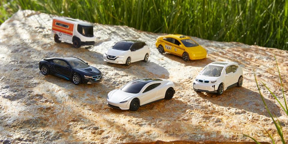 Matchbox Announces CarbonNeutral-Certified Die-Cast EV Collection