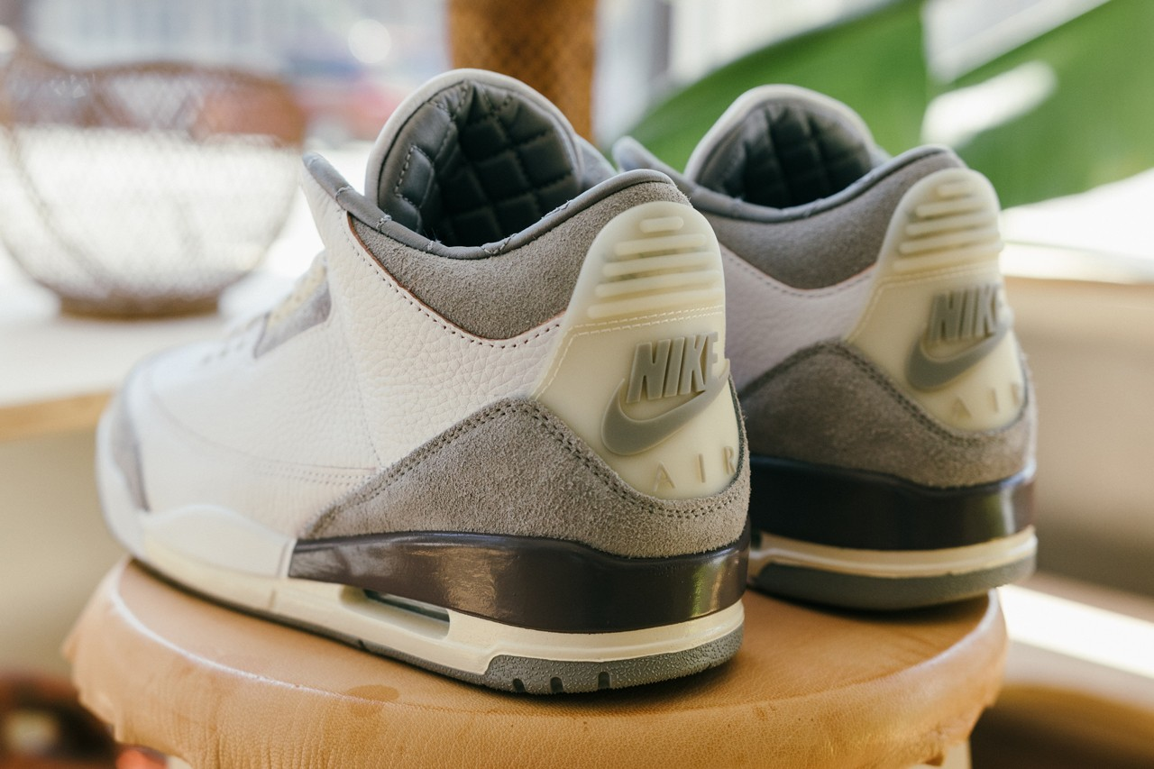 a ma maniere air jordan 3 apparel collection white brown tan dh3434 110 james whitner whitaker group exclusive interview raffle womens official release date info photos price store list buying guide
