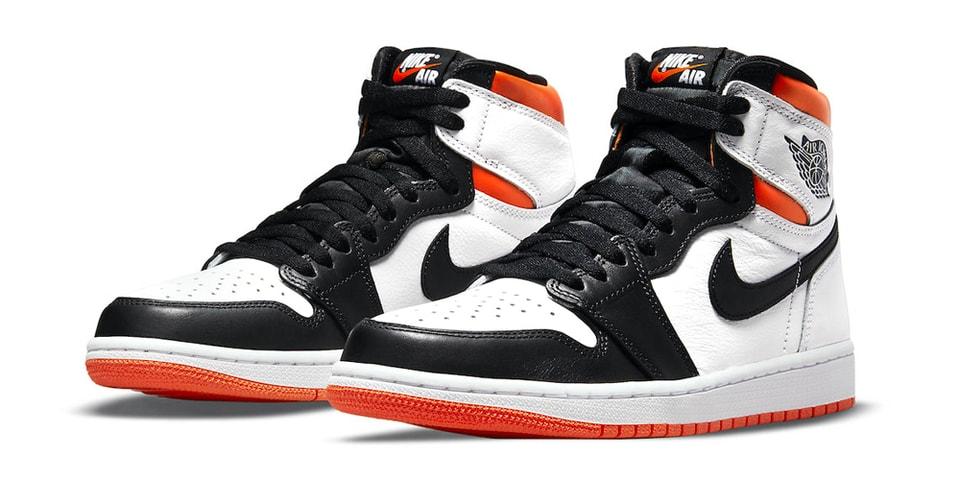 "Take an Official Look At the Air Jordan 1 High OG ""Electro Orange"""
