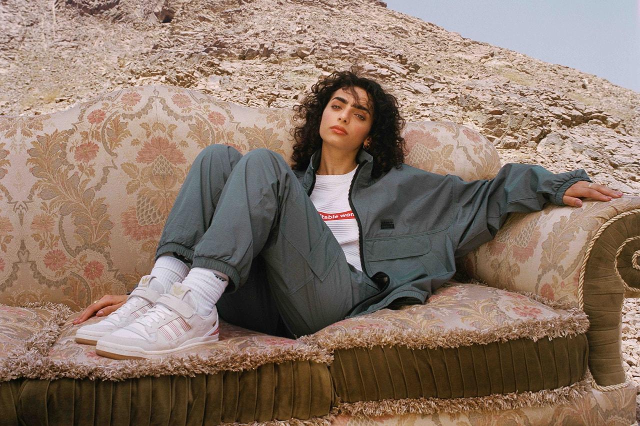 adidas originals Arwa Al Banawi arabic heritage goat keffiyeh traiditon east west aesthetic footwear sneaker forum lo beyonce