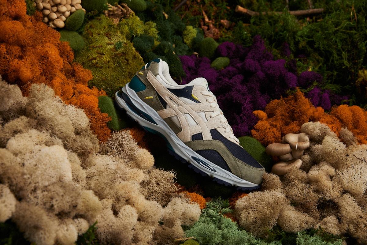 asics sneaker gel-mc spring new lichen moss
