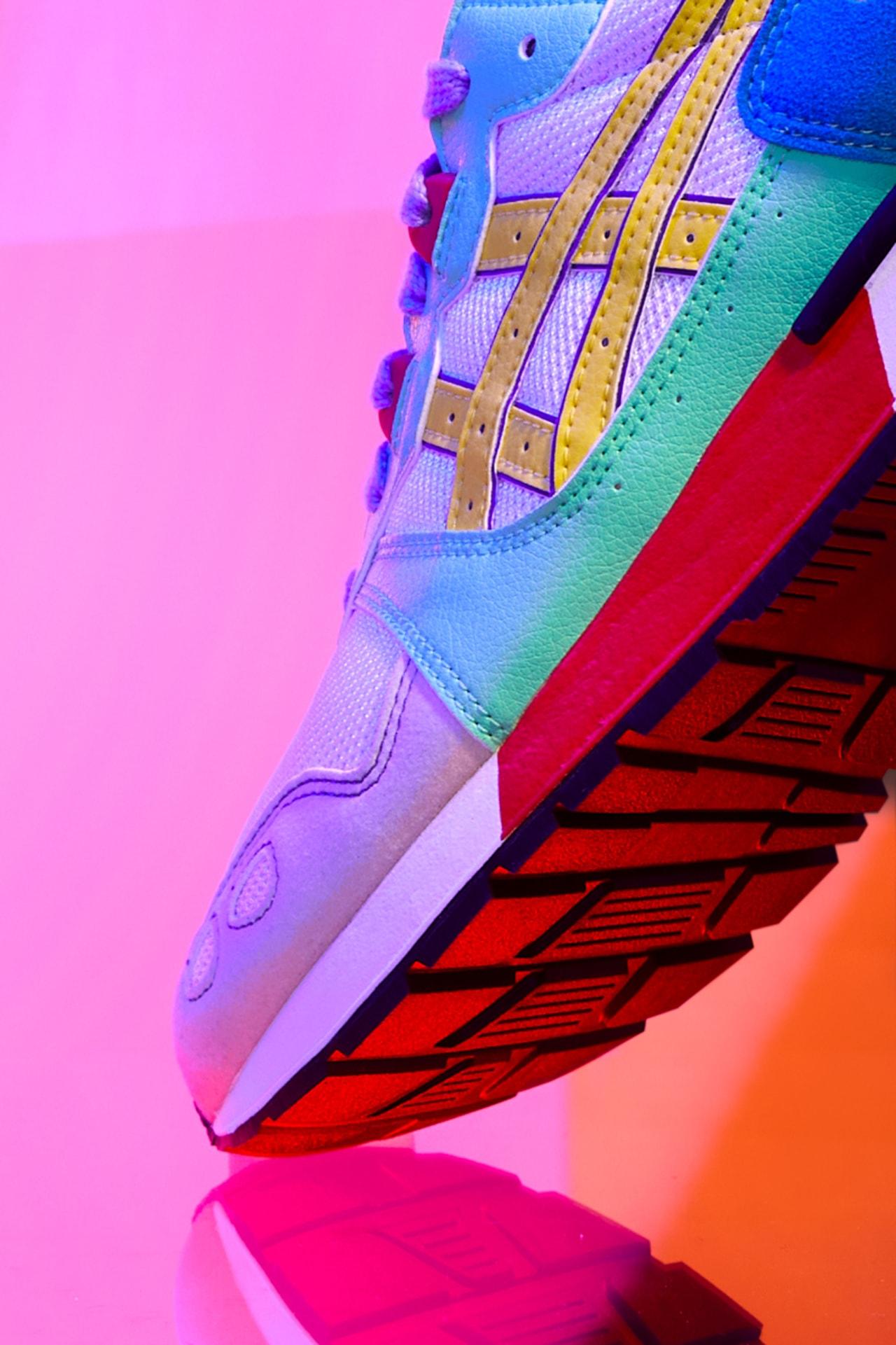 아식스, 무지갯빛 '데이 라이트 팩' 출시, asics day lyte pack summer colors 여름 신발