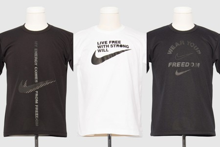 BLACK Comme des Garçons and Nike Release Three Co-Branded T-Shirts