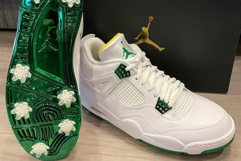 Bubba Watson Reveals His Air Jordan 4 Golf PE For the Masters Tournament