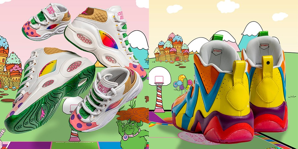 Reebok Travels to King Kandy's Castle For New Footwear Collection With Candy Land