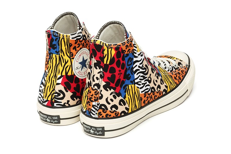 CASTELBAJAC and Converse Dress the Converse Chuck 70 Hi With Vibrant Animal Patterns