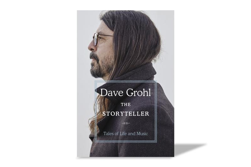 Dave Grohl The Storyteller Book Release Info foo fighters nirvana dey