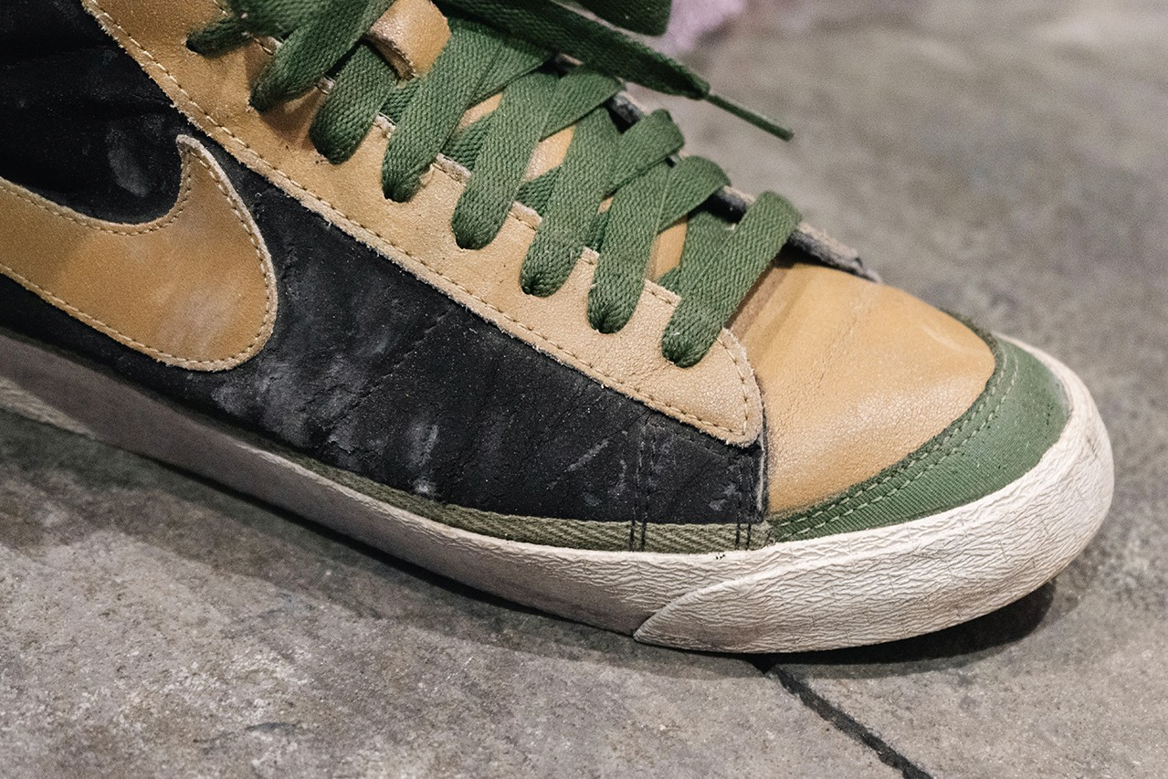 sole mates dave ortiz nike blazer suede futura boba fett interview conversation official release date info photos price store list buying guide