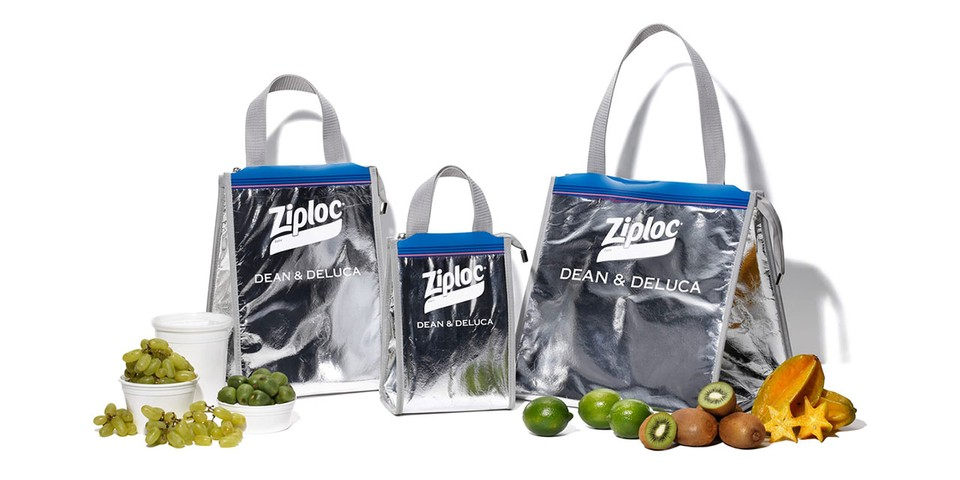 BEAMS COUTURE Upcycles and Updates Ziploc Bags for Dean & Deluca