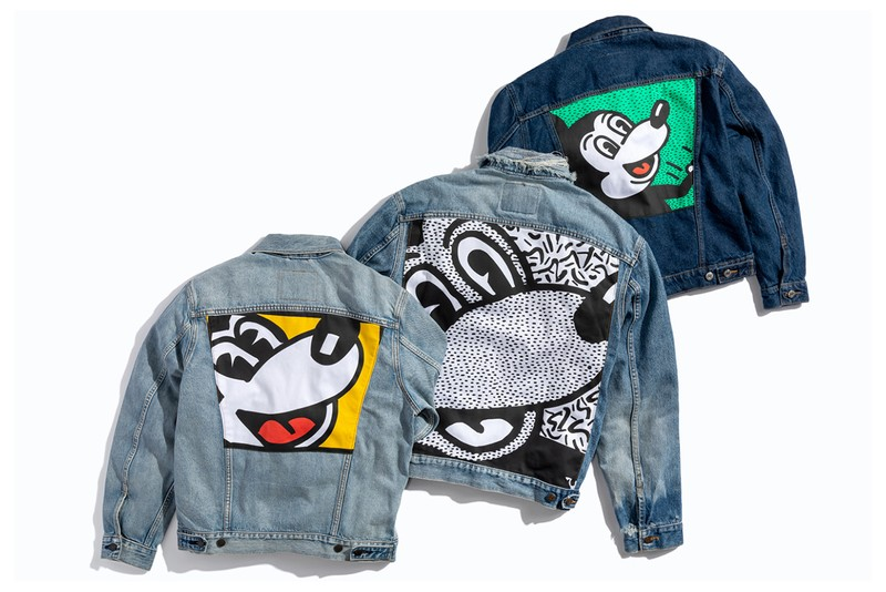 Levi's Latest Customizable Apparel Remixes Keith Haring's Mickey Mouse