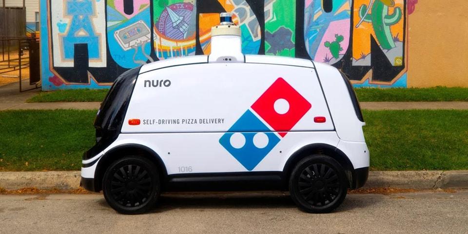 Domino's Pizza to Begin Autonomous Robot Deliveries