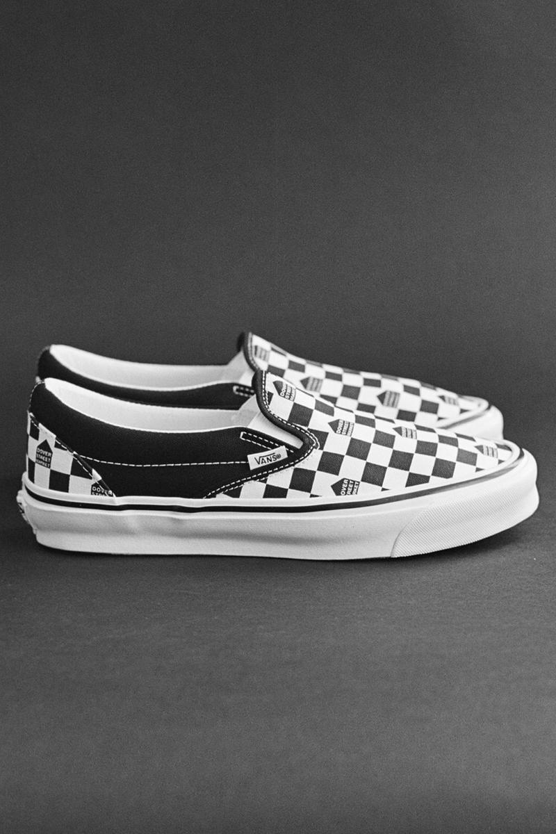 Dover Street Market London x Vans UA OG Classic Slip On LX Authentic DSM Old Skool Checkerboard Release Information Closer First Look Collaboration April 12 Stores Reopening Shopping UK Lockdown Restriction Rules How to Buy Footwear Sneakers