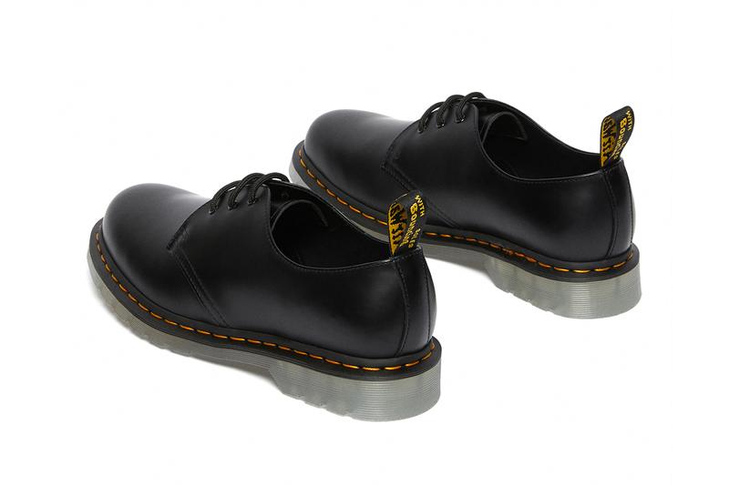 dr martens 1461 60th anniversary iced elastic leo zip peppermint green release info store list buying guide photos price