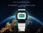 G-SHOCK Celebrates 40th Anniversary of the First Space Shuttle Launch With NASA-Inspired DW5600 Model