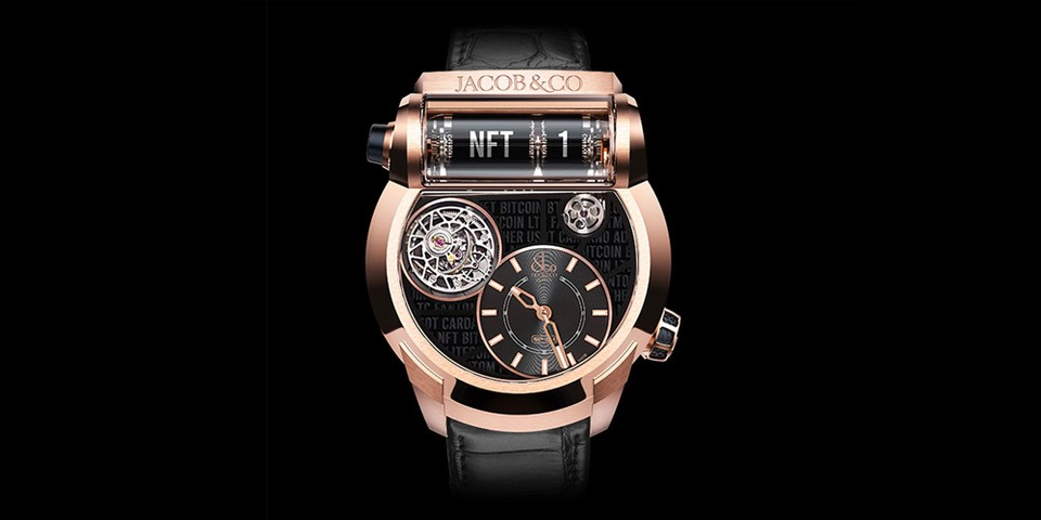 Jacob & Co. Releases First-Ever NFT Watch
