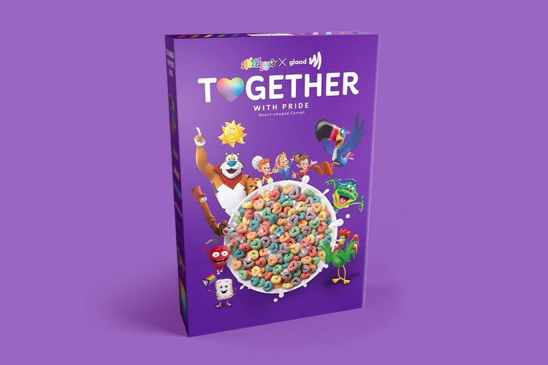 "Kellogg's and GLAAD Hatch ""Together With Pride"" Cereal"