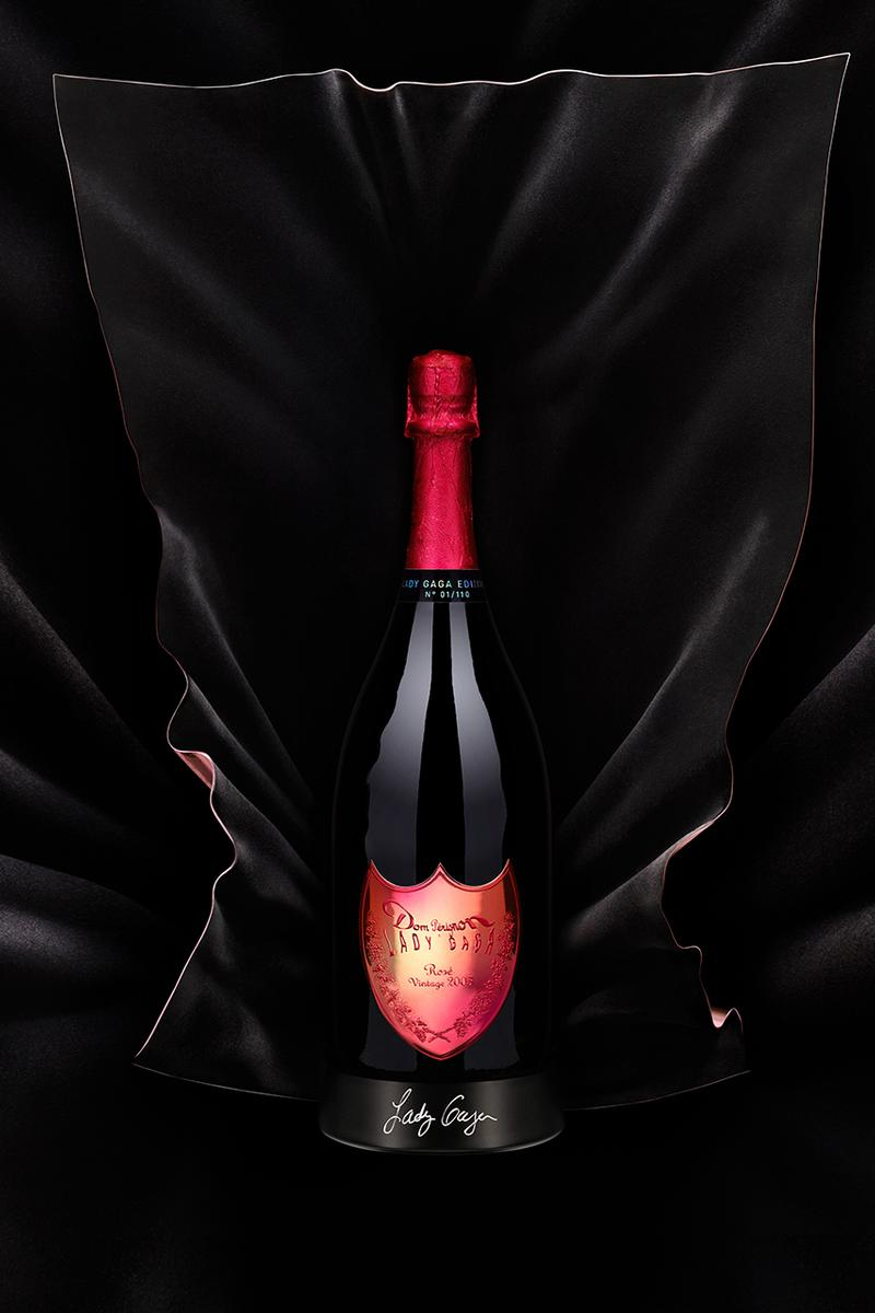 Lady Gaga x Dom Pérignon Champagne Bottle Born This Way Foundation 'Chromatica' Alcohol Food Beverage Campaign Launch Release Date Drop Little Monsters