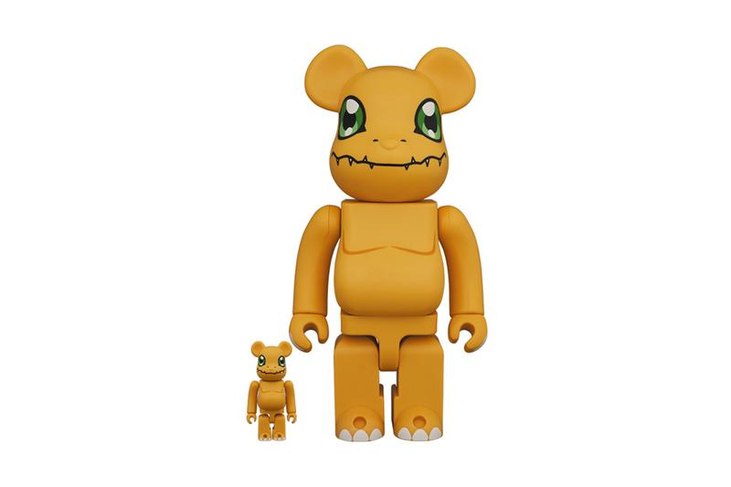 medicom toy bearbrick agumon digimon bearbrick 100 400 percent orange green official release date info photos price store list buying guide