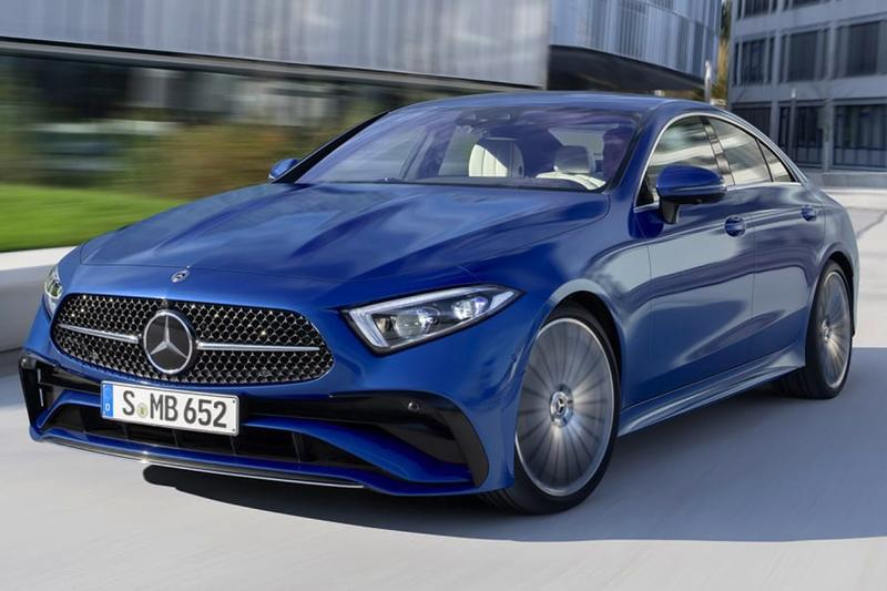 2022 Mercedes-Benz CLS-Class Receives Styling Upgrade AMG Mercedes-AMG CLS 450 Mercedes-Benz C-Class GLS Mercedes-Maybach EQS MBUX Hyperscreen electric vehicles automotive cars